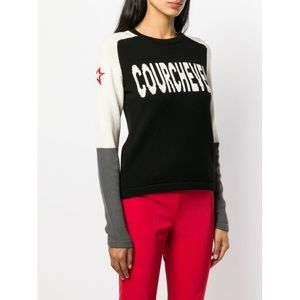 Perfect Moment Wool Courchevel Jumper in Black